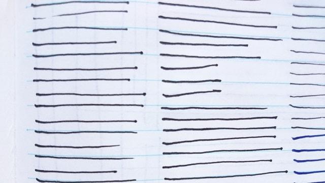 練習用紙の写真