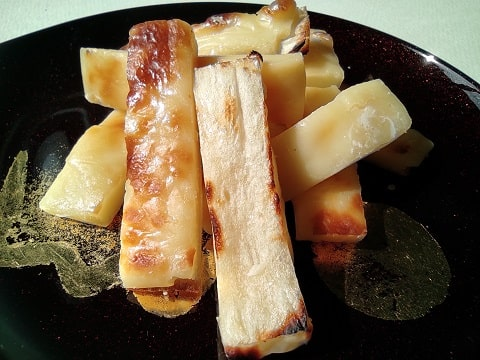 焼きたらチーズの写真