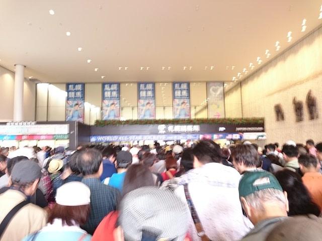 競馬場の写真