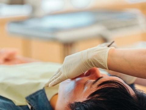 歯医者の写真