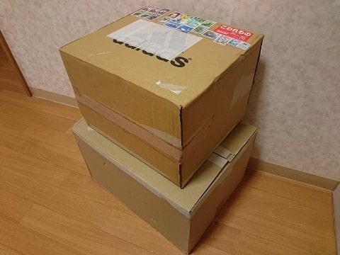 ダンボール箱の写真